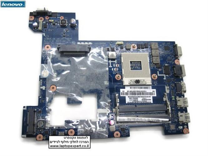 לוח אם ראשי להחלפה במחשב נייד לנובו Lenovo G580 Motherboard Main Board QIWG5_G6_G9 LA-7982P 4EMFG:223