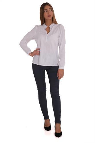 חולצה אשלי לבן