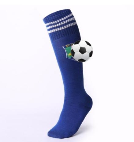 גרביים גבוהות מדליקות בצבע כחול למשחקי BDSM