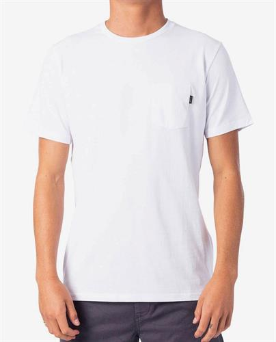 RIP CURL PLAIN POCKET TEE W