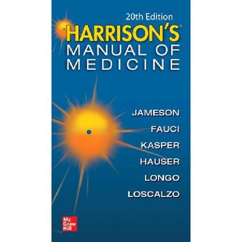 Harrisons Manual of Medicine 20th International Edition