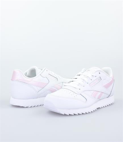 נעלי נשים ריבוק קלאסיק צבע ורוד/לבן דגם EG6001