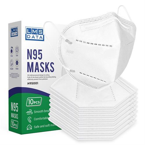מארז 10 מסכות N95 | תקן מחמיר במיוחד |מסיכות N95
