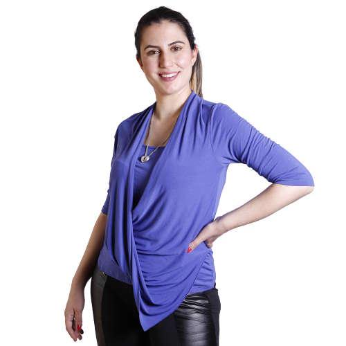 חולצת הנקה אי-סימטרי