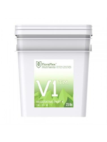 """דשן לצמיחה V1 פלורה פלקס 11 ק""""ג floraflex nutrients"""