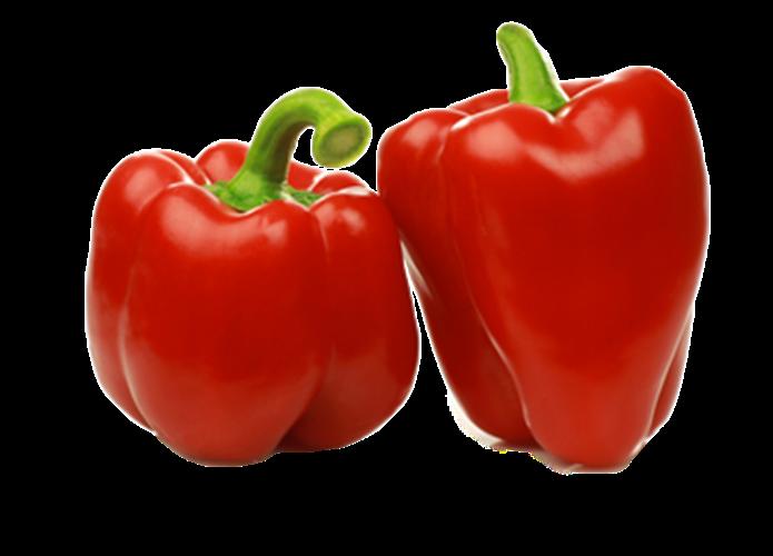 פלפל אדום אורגני - 1 ק''ג