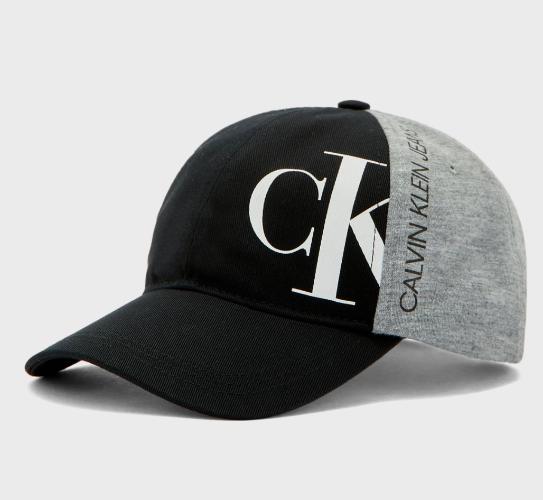 כובע CALVIN KLIEN שחור בשילוב אפור - 4-14 שנים