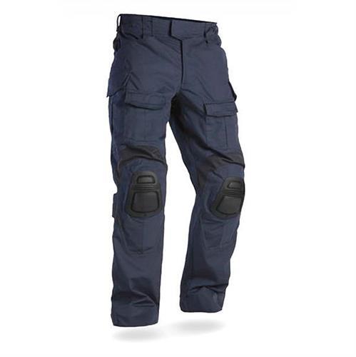 מכנס מדי לחימה טקטי G3 צבע כחול כהה  Dark Blue  עם סט ברכיות בצבע  שחור