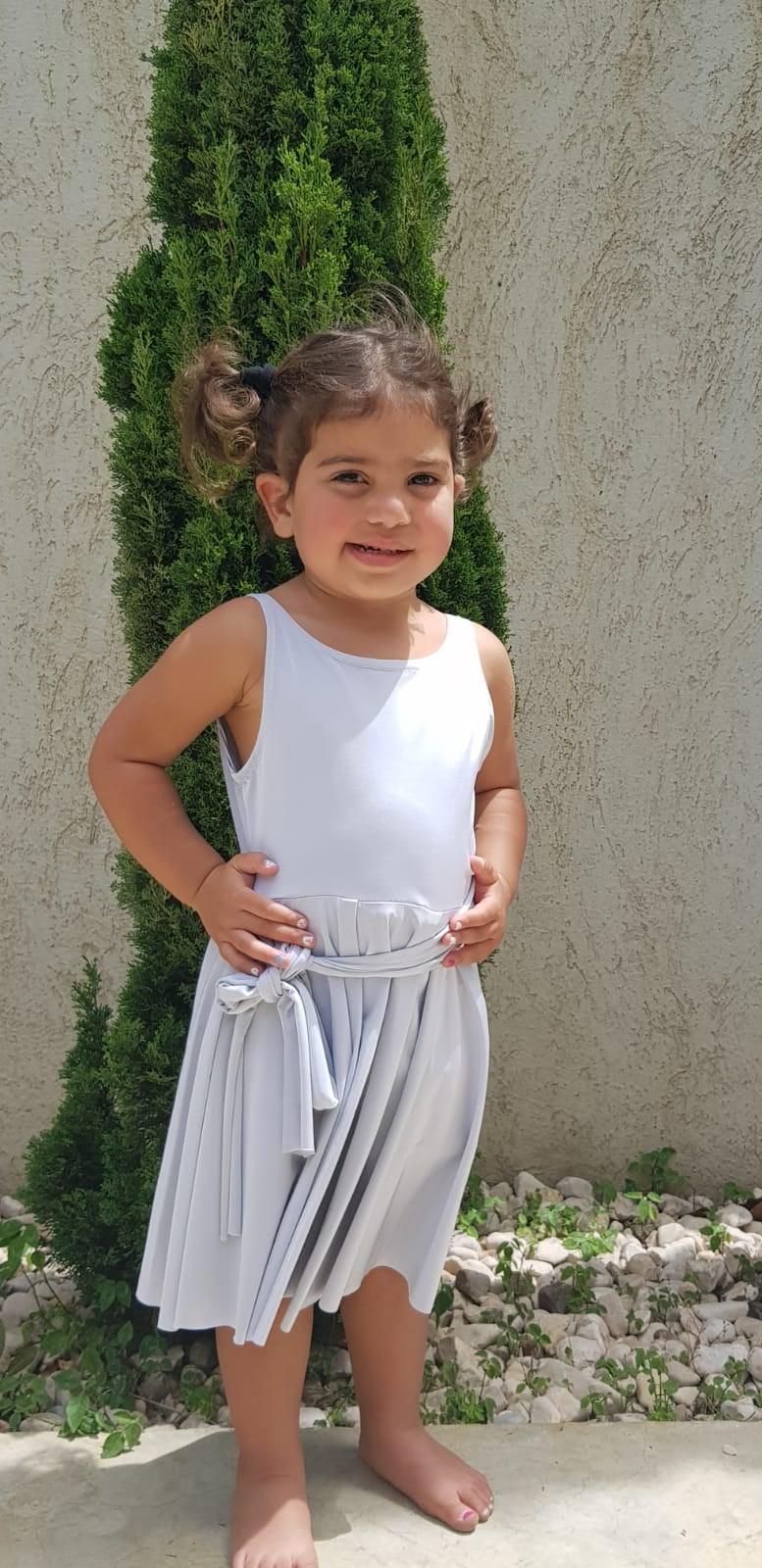 שמלת אריאל - כסופה