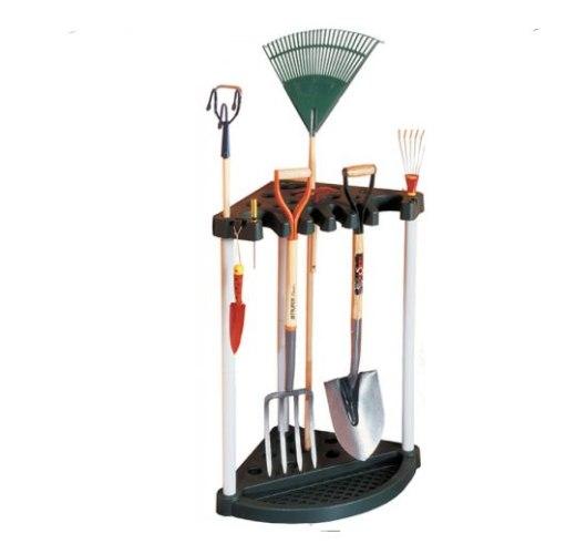 ארגונית כלי גינון פינתית - כתר פלסטיק