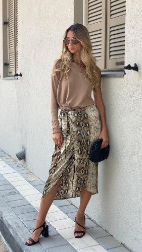 חצאית מידי קשירה