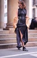 שמלת פייטים דיימונד שחור