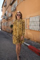 שמלת שיפון קצרה ג'יזל