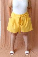 מכנסיי שייה צהוב
