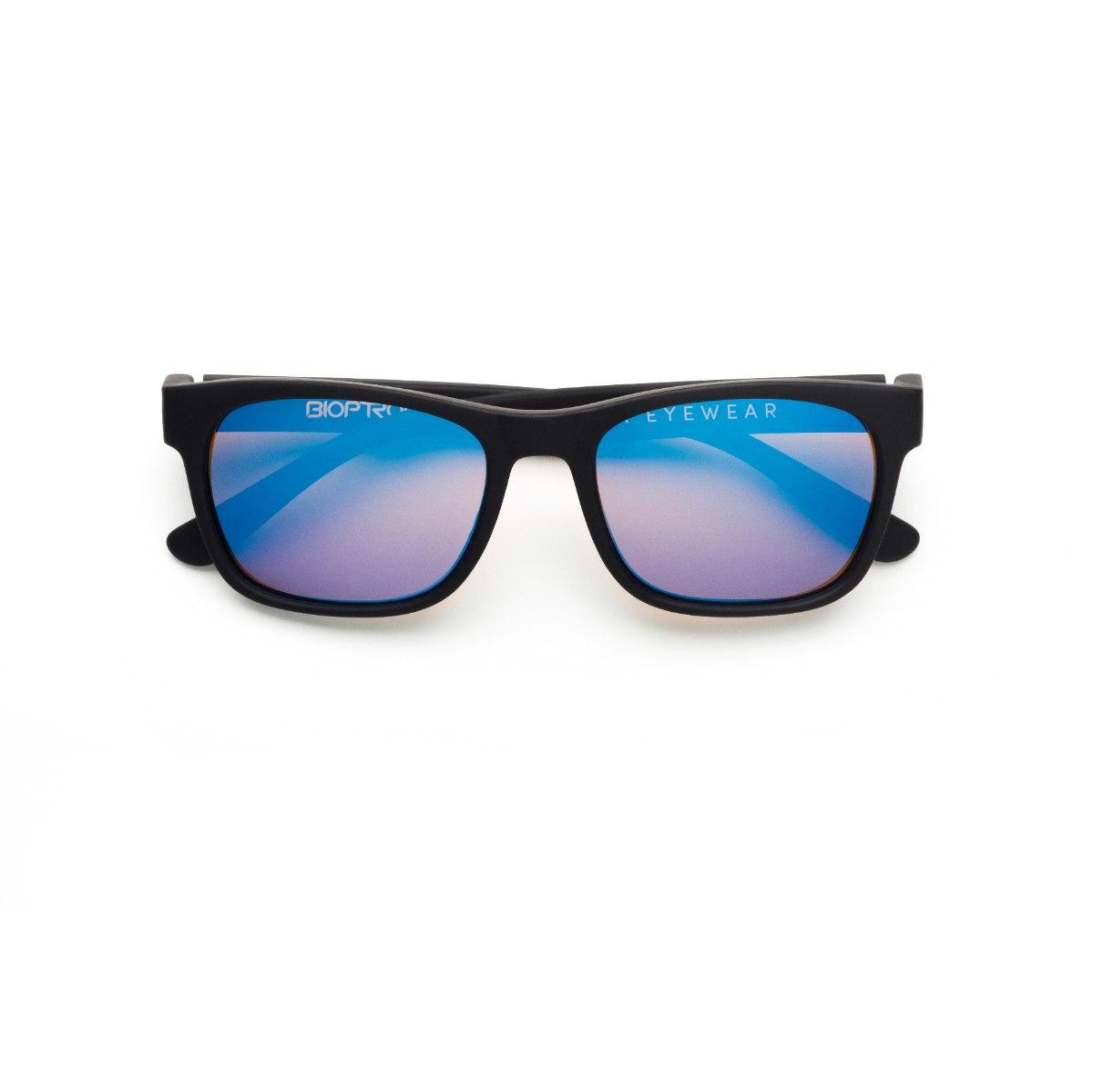 משקפי היפרלייט (נגד קרינה) לילדים, דגם THE-0402BK MRBK מסגרת שחורה