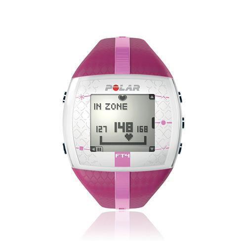 שעון ספורט FT4 Polar, מתאים לאלו הרוצים לשמור על אימון פשוט ולהשתמש בתכונות הבסיסיות של אימון דופק.