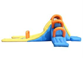 מתקן קפיצה ומים מיני פארק מים הפי הופ - 9045 - Mini Water Park Happy Hop מגיע עם סולם טיפוס