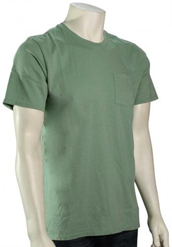 Hurley Washed Staple Pocket T-Shirt - Silver Pine