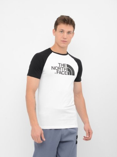 טישרט The North Face - Raglan Easy Tee White