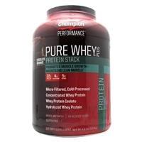Pure Whey + אבקת חלבון מומלצת מבית צ'מפיון