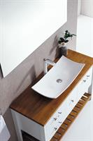 ארון אמבטיה עומד עץ מלא דגם לאגו LAGO