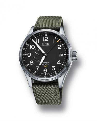 שעון יד אוטומטי לגבר אוריס 0174877104164-0752214FC