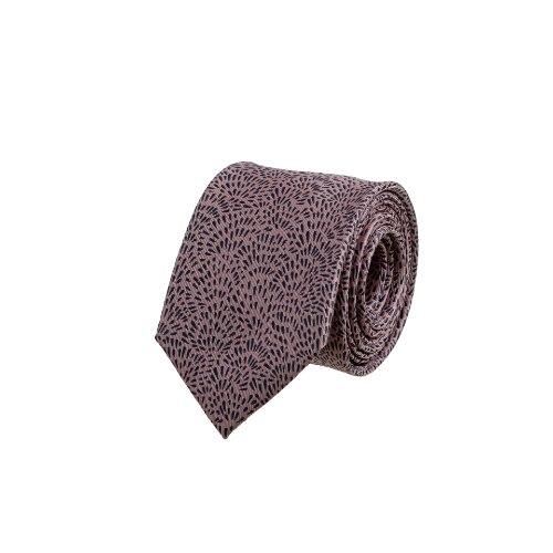 עניבה זיקוק מתפרץ ורוד עשיר