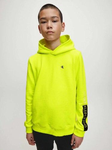 סוויטשירט צהוב לוגו CK