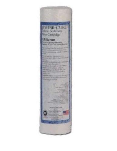 """סנן משקעים פוליפרופילן 25 מיקרון CLACK Hydro Cure ארה""""ב"""