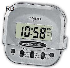 שעון מעורר דיגיטלי קסיו CASIO PQ30