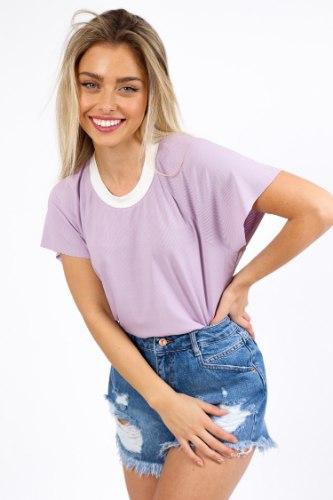 חולצת סופי סגול