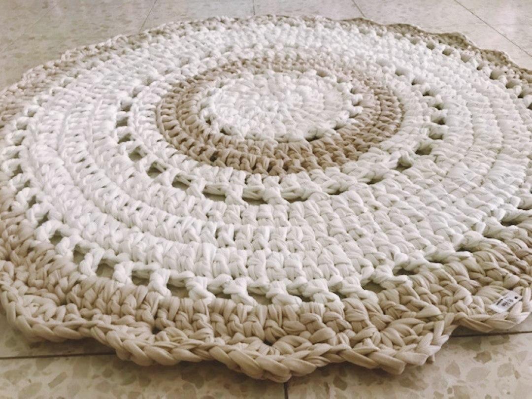 שטיחים סרוגים, שטיח סרוג, שטיח דוגמת תחרה שטיח תחרה,שטיחים סרוגים, שטיח דוגמה כפרית, שטי חסגנון וינטאג' כפרי, שטיח עגול סרוג , עיצוב הבית, שטיחים, שטיח בהזמנה