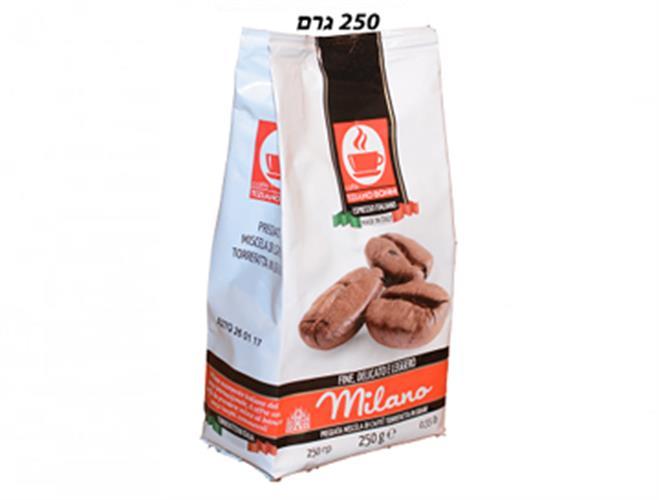 תערובת פולי קפה מילאנו - 250 גרם