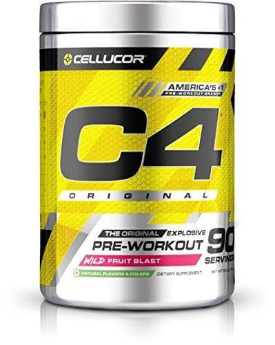 90 מנות|C4 פורמולת קריאטין חזקה-PRE-WORKOUT