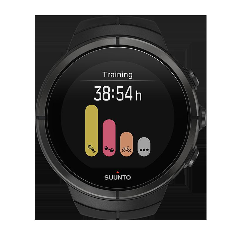 שעון סונטו עם דופק מהיד Suunto Spartan - All Black