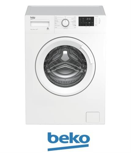 beko מכונת כביסה 7 קג 1000 סלד דגם: WTV7512BW