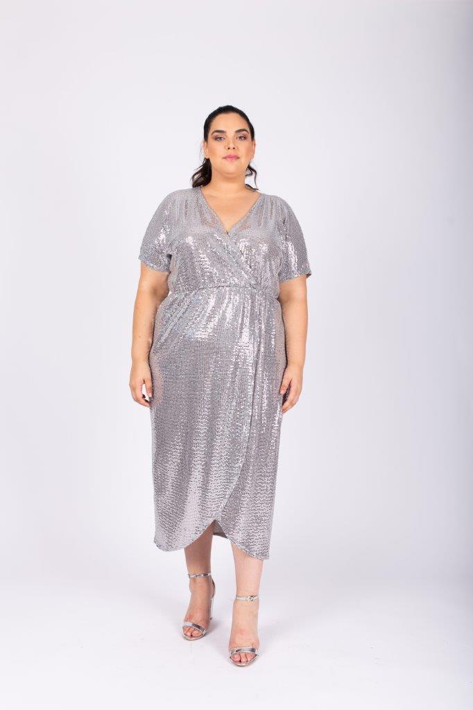 שמלת לורנה כסף