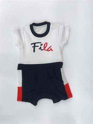 בגד גוף לבן לוגו FILLA