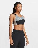 NIKE SWOOSH גוזיית ספורט עם תמיכה צבע שחור|אפור