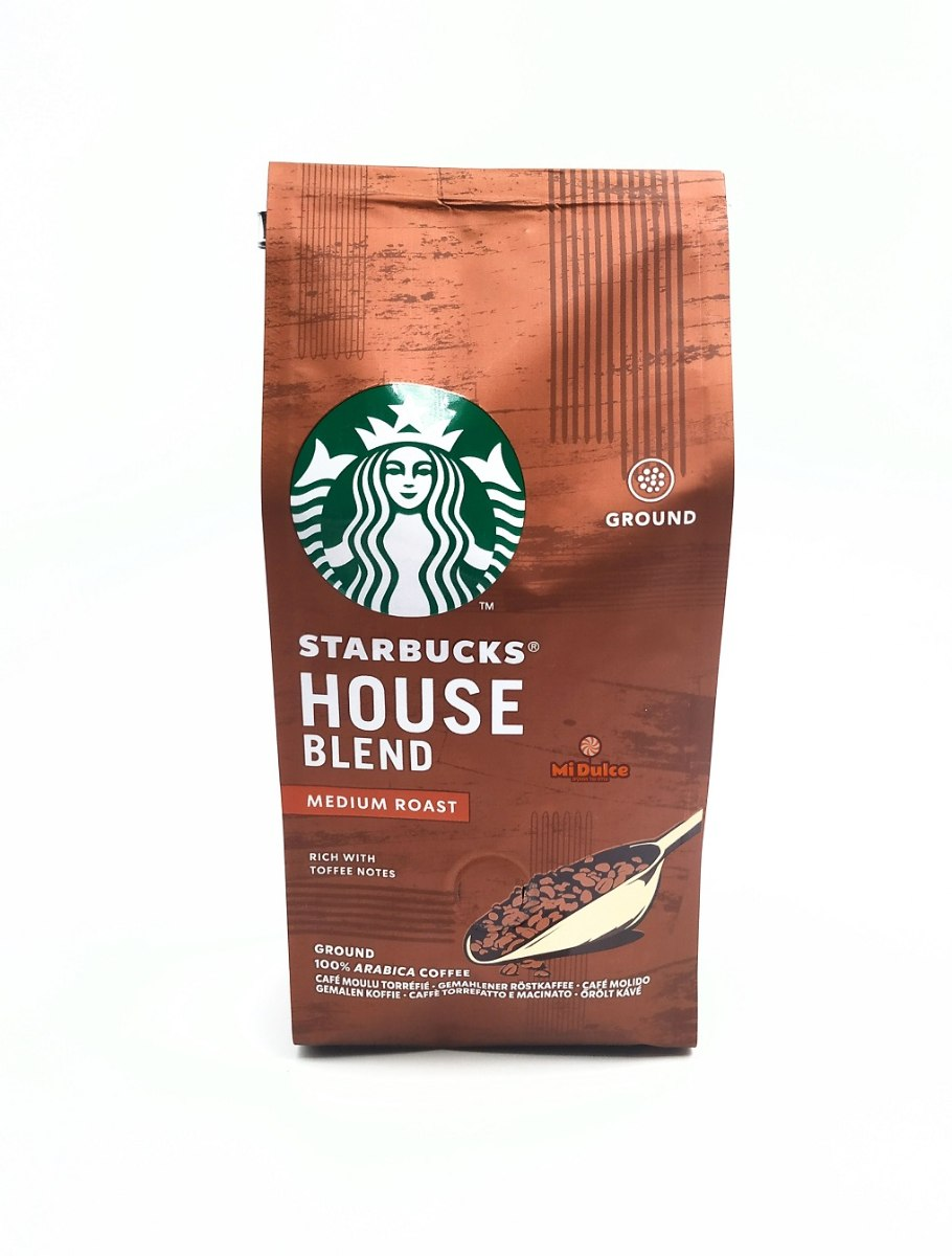 Starbucks House Blend  קפה טחון קלוי