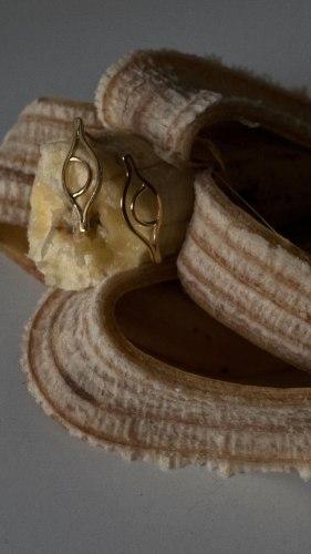 עגילי ניל בייסיק זהב