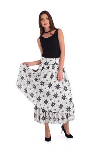חצאית לילאן לבן