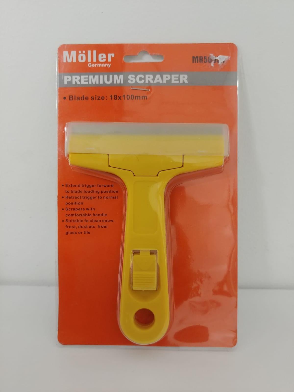 סקרייפר - מגרדת - סכין קילוף מבית MOLLER GERMANY