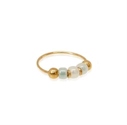 עגיל הליקס זהב אמיתי עם אבנים צבעוניות לבחירה