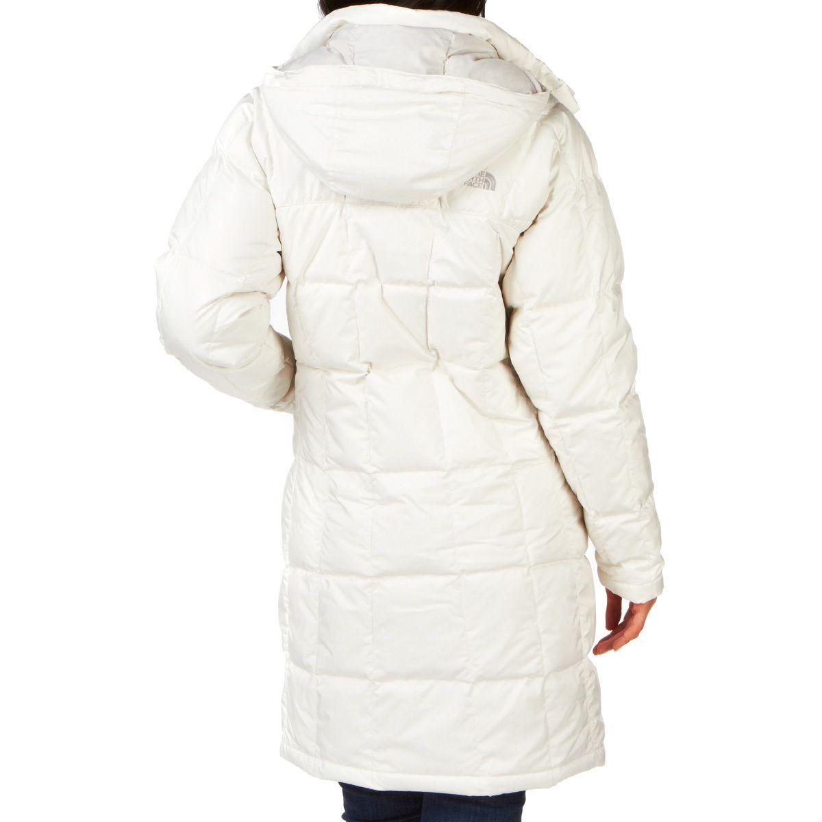 מעיל פוך נשים נורט פייס מדגם The North Face Women's Metropolis Parka Vintage White