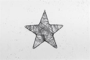 כוכב מיתרי ברזל XL - שחור