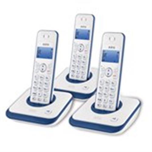 טלפון אלחוטי + 2 שלוחות AEG AG 3000