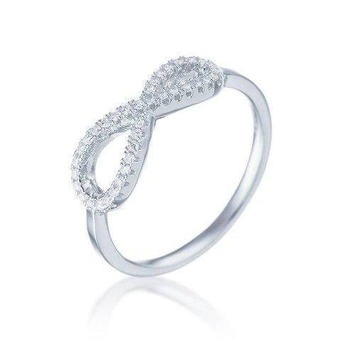 טבעת כסף אינפינטי