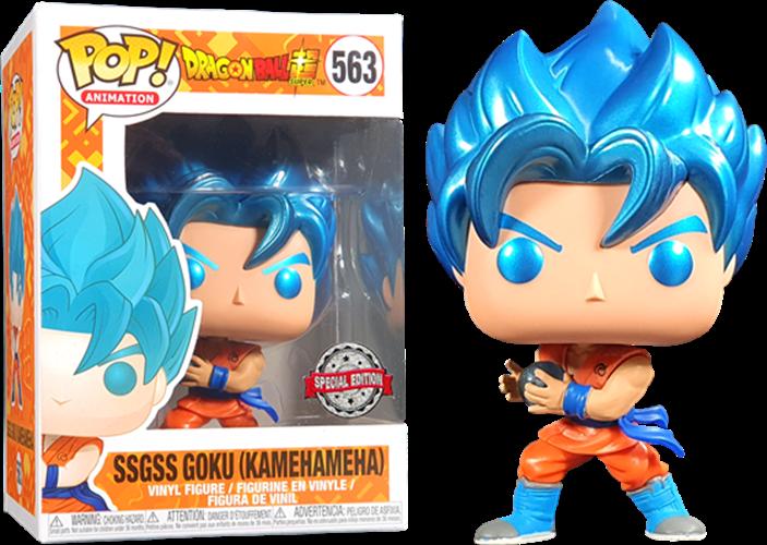 Funko Pop - SSGSS Goku (Kamehameha)