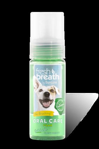 קצף מנטרל ריח רע לכלבים מהפה